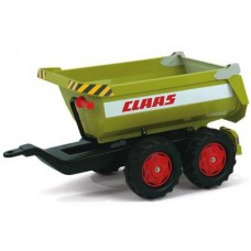 Rolly Toys aanhanger halfpipe Claas